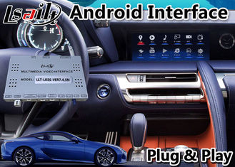 GPS Navigation Box Android Car Video Interface For Lexus LC500 LC 500h 2017-2020