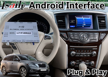 Android 9.0 GPS Interface Multimedia Navigation for 2014-2018 Nissan Pathfinder